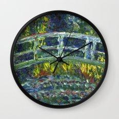 Monet Interpretation Wall Clock