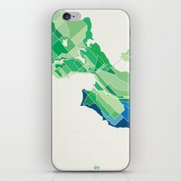 Seattle Colored iPhone & iPod Skin