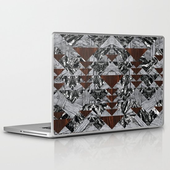 Wood Galaxy Laptop & iPad Skin