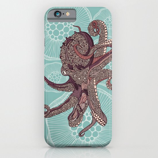 Octopus Bloom iPhone & iPod Case