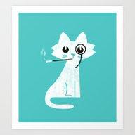 Mark - Aristo-Cat Art Print