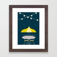 Jolly Cafe | Disney inspired Framed Art Print