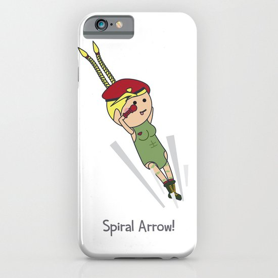 Spiral Arrow iPhone & iPod Case