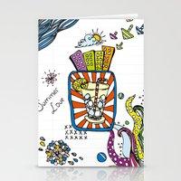 Summer Doodle Stationery Cards