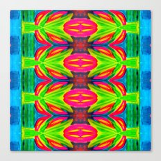 Tropical Abstract II - Painting Canvas Print