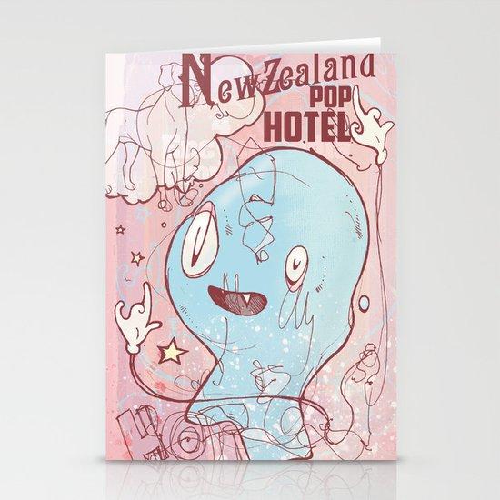 NewZealand Pop Hotel Stationery Card