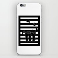 Stripes iPhone & iPod Skin