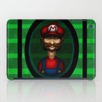 Sad Mario iPad Case