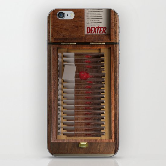 I-Dex Dexter Blood slide Iphone case... iPhone & iPod Skin