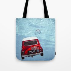 deep water swimming mini #1 Tote Bag