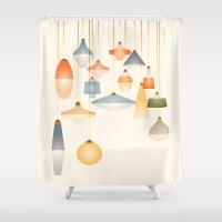 La Belle Lumière Shower Curtain