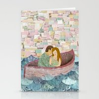 and they lived happily ever after Stationery Cards