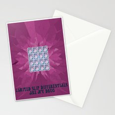 Limited Slip Differentials Stationery Cards