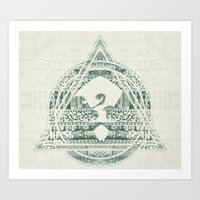 ?5 Art Print