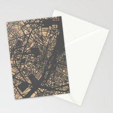PLAN DE PARIS Stationery Cards
