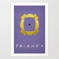 Friends Poster 02 Art Print