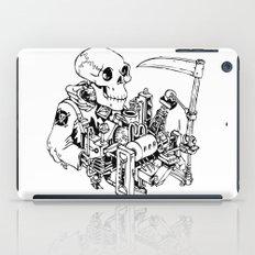 Grim Reaper - Power Scythe iPad Case