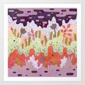 Crystal Forest Art Print