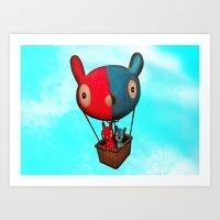 Yoo & Mee Art Print