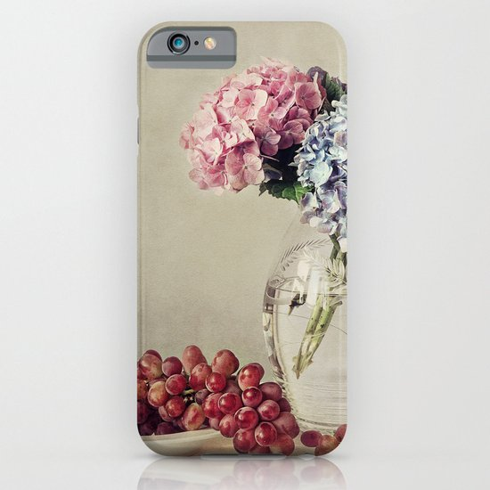 Still life with hydrangea iPhone & iPod Case