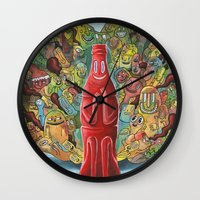 I'd Like to Buy the World a Smile Wall Clock