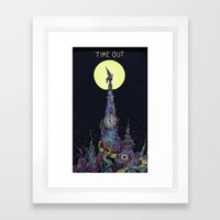 Time Out Framed Art Print