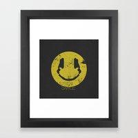 Music Smile Framed Art Print