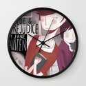 Pride and Prejudice Wall Clock