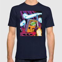 The Legend of Gameboy Mens Fitted Tee Navy SMALL