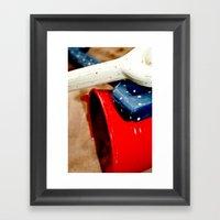 Bucket And Spade Framed Art Print