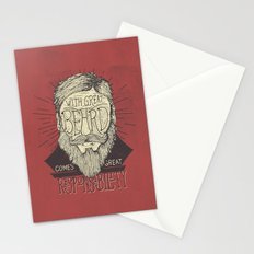The Beard Stationery Cards