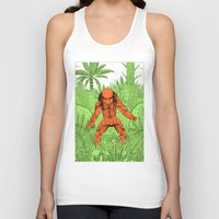 Unisex Tank Top featuring The Hunter by Jack Teagle