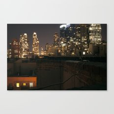 Rooftop Classic Canvas Print