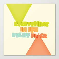 Everything . . Canvas Print