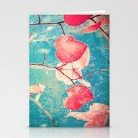 Autumn Hea(u)rts - Textu… Stationery Cards