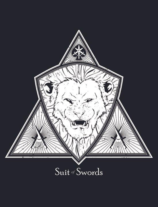 Suit of Swords - Strength Art Print