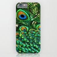 Pretty Peacock iPhone 6 Slim Case