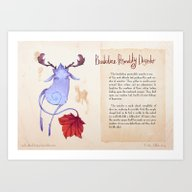 Art Print featuring Real Monsters- Borderlin… by Zestydoesthings