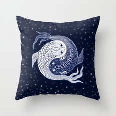 shuiwudao in space Throw Pillow
