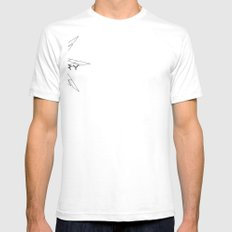 HOLY GEOMETRY Mens Fitted Tee SMALL White