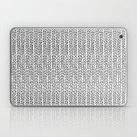 Knit Outline Laptop & iPad Skin