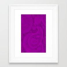 Paisley 3 Framed Art Print