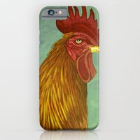 Rooster Portrait iPhone 6 Slim Case