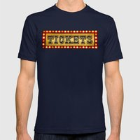 Tickets Mens Fitted Tee Navy SMALL