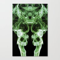 Smoke Photography #21 Canvas Print