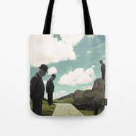 Watching The Boats Come … Tote Bag