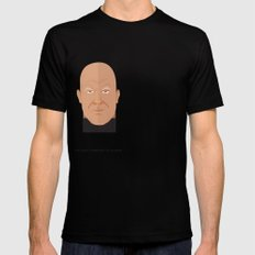 Norman Foster Black SMALL Mens Fitted Tee