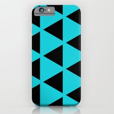 Sleyer Black on Blue Pattern iPhone 6 Slim Case