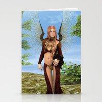 Magic Fairy Stationery Cards
