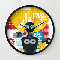 Summer. Wall Clock